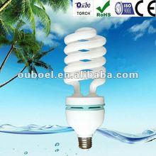 T4 half spiral energy saving lamp 50W (CE ROHS ISO SASO)