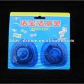 feste automatische Toilette 50g, die blaue Tabletten säubert