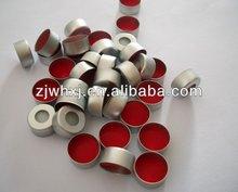 Best price HPLC vials chromatograph Consumable autosampler vials crimp aluminum caps