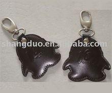 Top Quality Fancy Cute PU Leather Key Chain