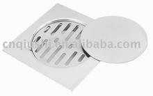 3pcs stainless steel floor drain