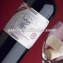 custom wine sticker