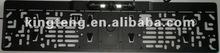 European Number License Plate Frame Camera With Led Lights