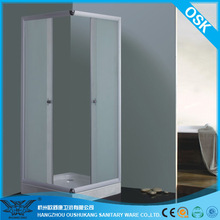 Shower Cubicle with Square Tray