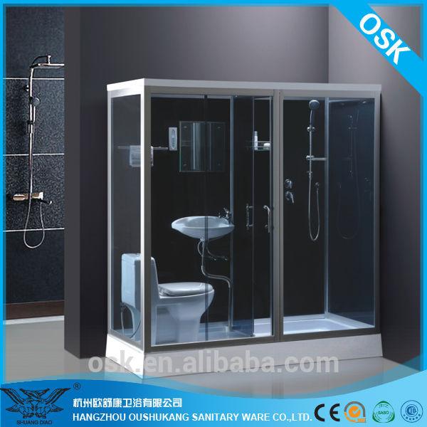 plage de si ge de cabine de douche avec wc lavabo salle de douche id du produit 268228418. Black Bedroom Furniture Sets. Home Design Ideas