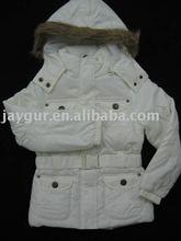 Woman or girls hoody long winter jacket
