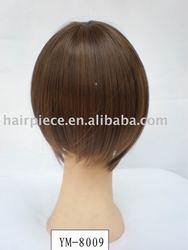 synthetic wigs/hair wear/hair pieces/hair bun/clip-in hair extension