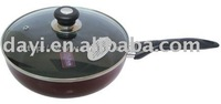 aluminum Deep fry pan with induction bottom DY-15024