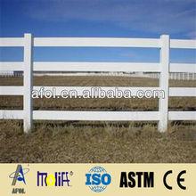 AFOL New Design PVC/Vinyl/Plastic Outdoor /Temporary Fence