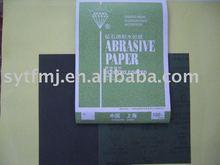 Papel abrasivo para metal / madeira / polimento mobiliário
