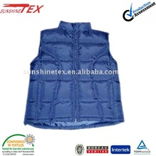 New!! young mens fashion padding vest without hood (12T310)
