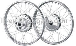 Motorcycle wheel rim for WY125 big model