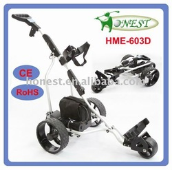 Electric golf buggy with 10m,20m,30 PDC function
