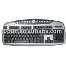 Multimedia Slim Computer Keyboard