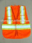 EN471 orange safety vest