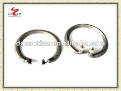 Stainless steel sintered powder heatpipe