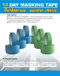 100 degree masking tape with competitive price