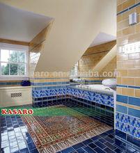 Round Glass Mosaic Tiles Wall Art (KSL124136)