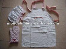 kitchen apron oven gloves tea cosy set