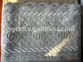 proceso de productos bordados a mano diseño de la hoja de cama proveedor de china