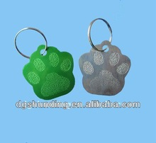 Guangdong factory design and produce metal aluminium dog tag
