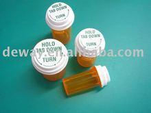 various volumes plastic vials