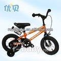 2014 nuevo estilo 12 pulgadas de una sola velocidad de bicicleta de los niños con la rueda de formación de proveedores de china