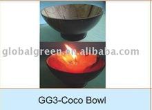 lacquer coconut bowls