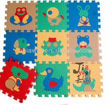 Anti- slittamento puzzle eva tappetino per bambini