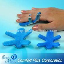 aluminium frosch fingerschiene für orthopädische unterstützung