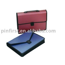 New 3 Layers With Handle PP Plastic Document Case