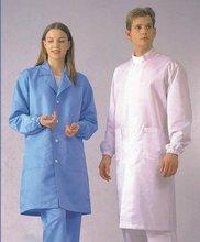 Antistatic cleanroom dress smock