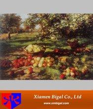 garden scape fruit oil painting for decoration
