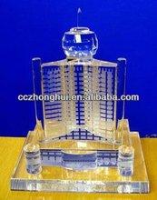 Delicate Crystal Building Model