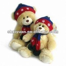 Christmas stuffed teddy bear(YL3128)