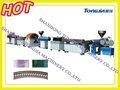 tubo de pvc trançado de linha de produção