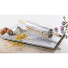 Genuine White Marble Pastry Board/cutting board