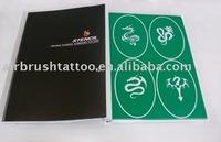 temporary spray airbrush tattoo stencil supplier