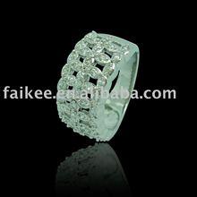 Sterling Silver jewelry,nice zircon rings,silver rings