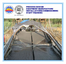 Gravity separation stream film beneficiation gold shaking table for sale