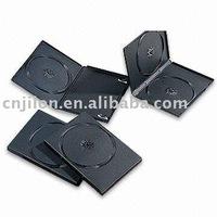 7MM BLACK DVD CASE SINGLE/DOUBLE