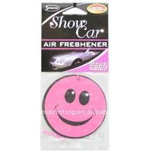 Customize paper car air freshener