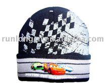 boy cuff knitted cute beanie hats