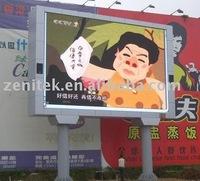 outdoor billboard of Shanghai