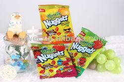 28g fruit nuggets pectin gummy candy