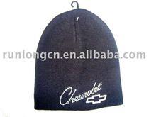 100% acrylic shinning sequins plain beanie hat