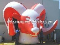 inflatable fixed cartoon/mascot