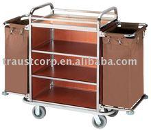 Housekeeping cart, maid's cart , linen trolley