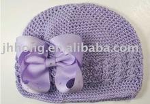 crochet Bows beanie kufi Crochet hats