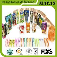 pp plastic bend drinking straws for milk